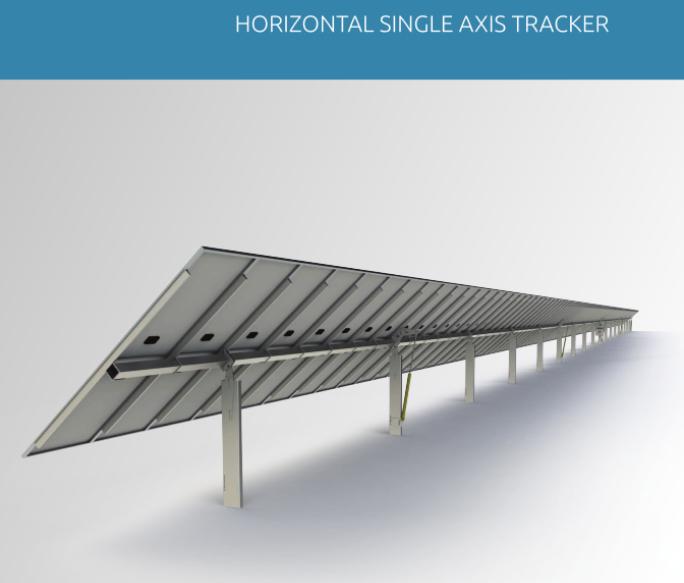 Horizontal Single Axis Tracker