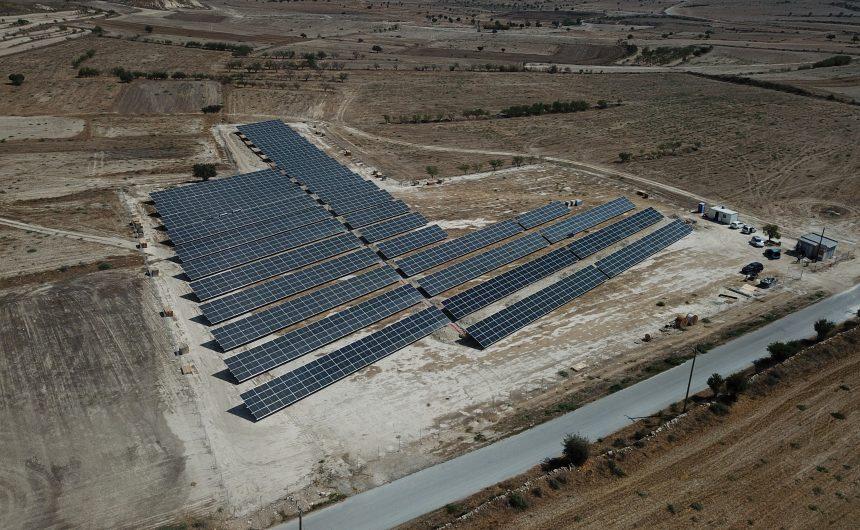 Φωτοβολταϊκό πάρκο δυναμικότητας 817kWp στον Δήμο Αθηένου στην Κύπρο